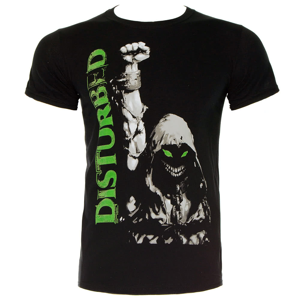 Official Disturbed Up Your Fist T Shirt (Black)