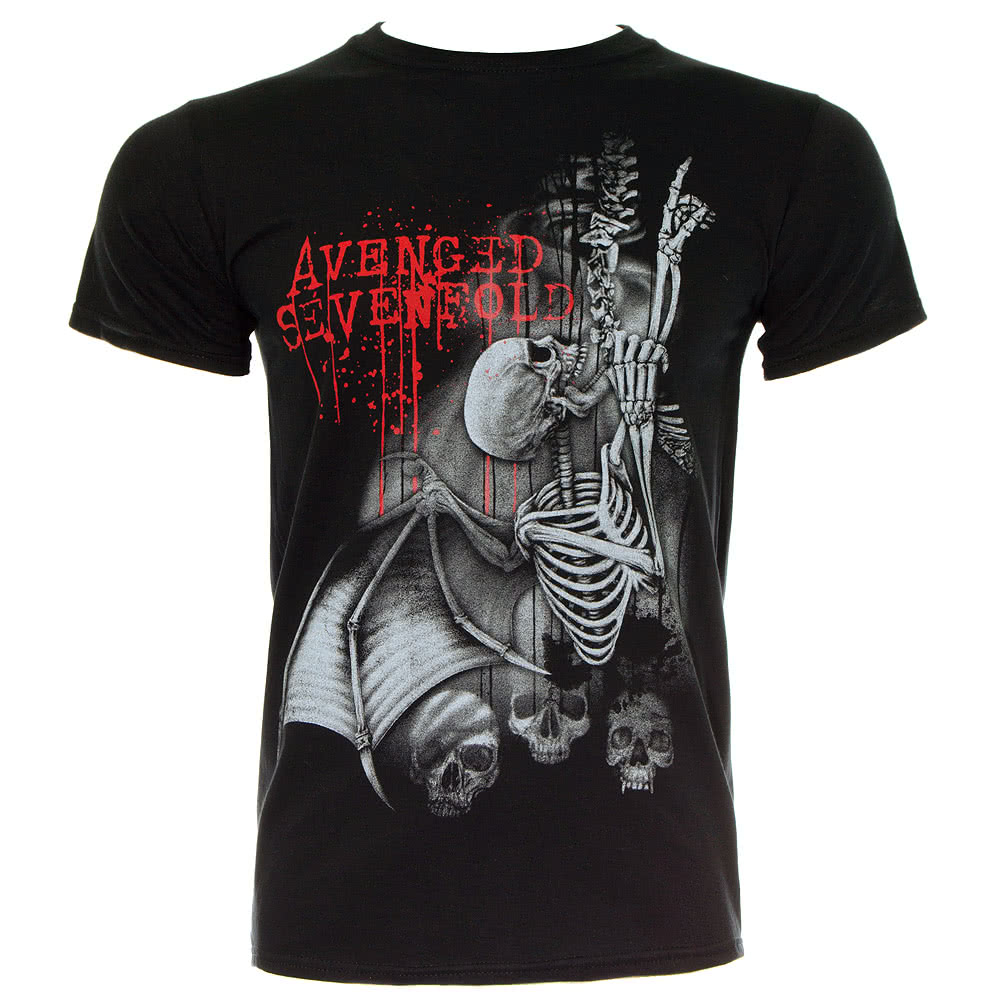 Official Avenged Sevenfold Spine Climber T Shirt (Black)