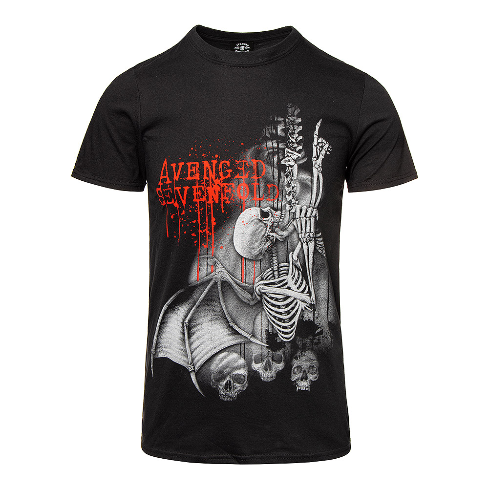 Avenged Sevenfold Spine Climber T Shirt (Noir)