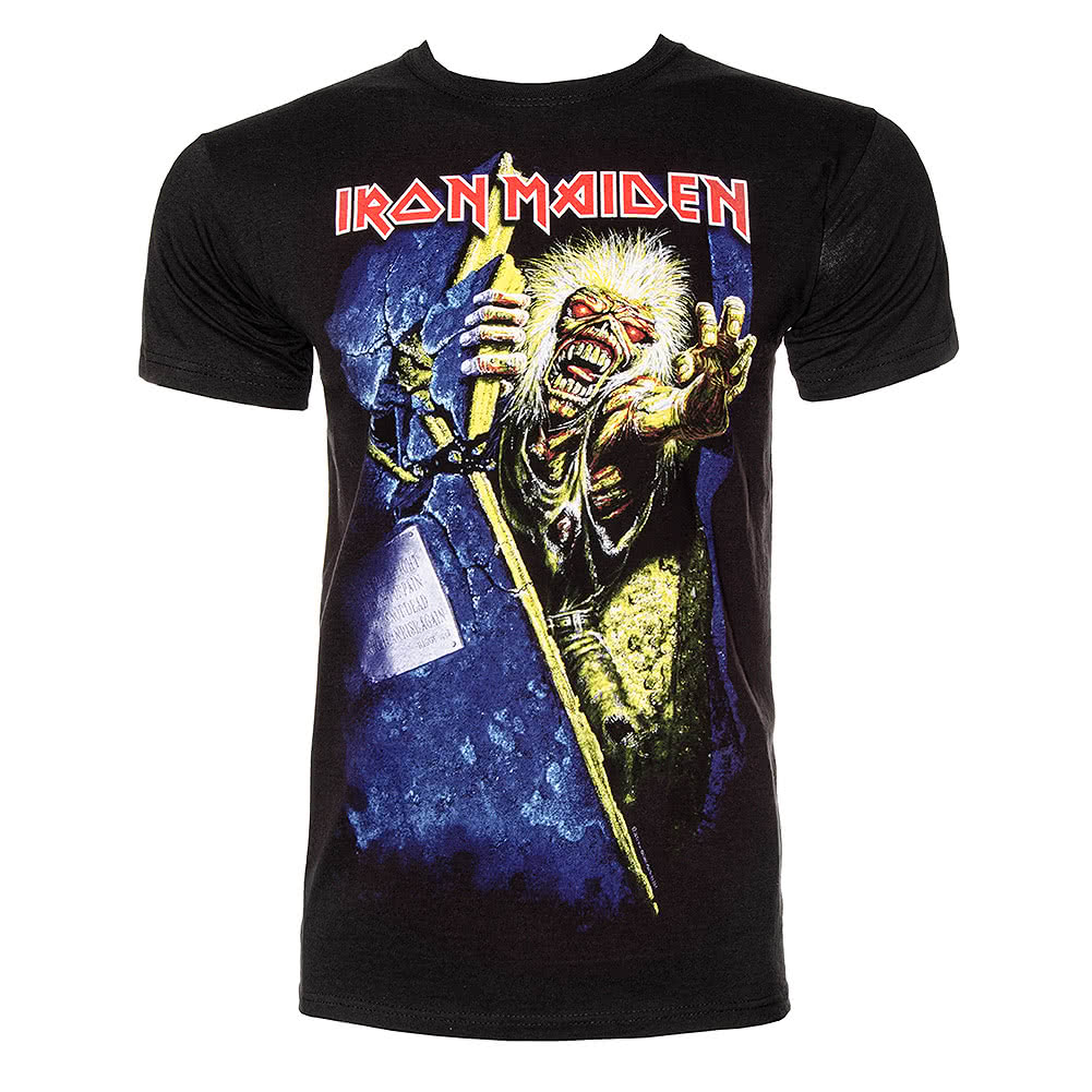 Official T Shirt IRON MAIDEN Black NO PRAYER Print Band ...