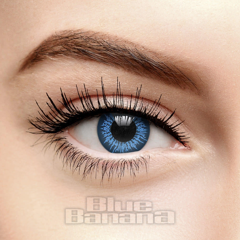 Cool 90 Day Coloured Contact Lenses (Blue)