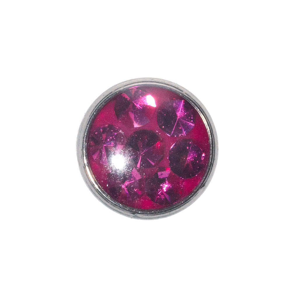 Blue Banana 5mm Glitter Dermal Top (Fuschia)