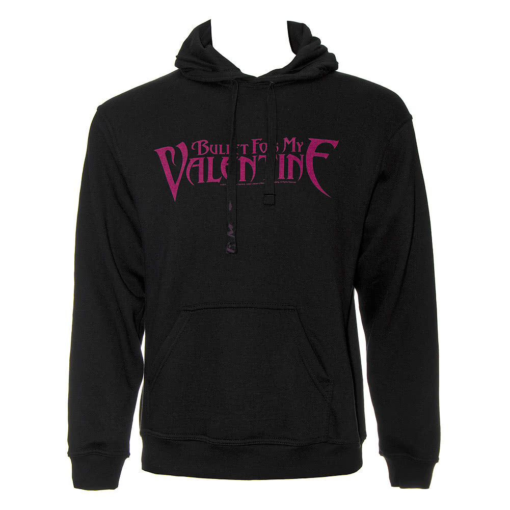 official bullet for my valentine logo hoodie black