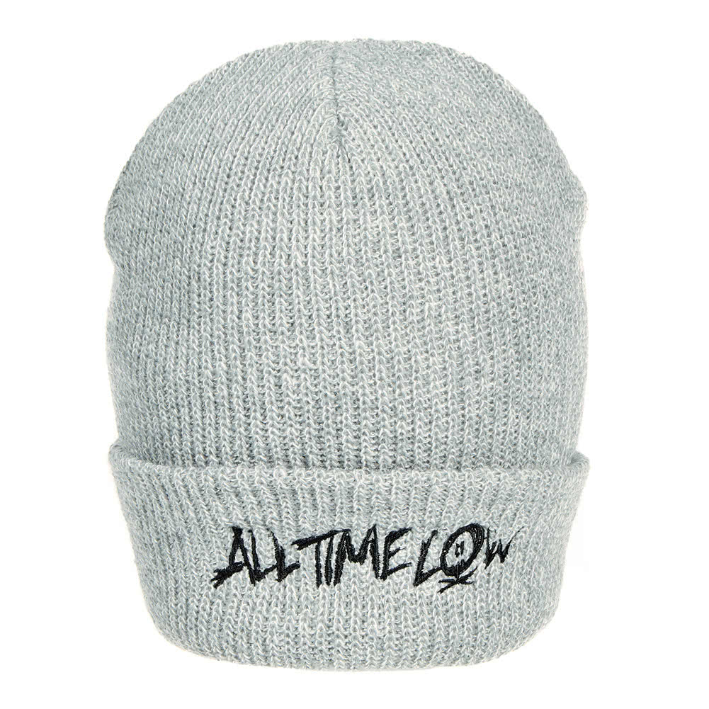 Official All Time Low Logo Beanie (Grey)