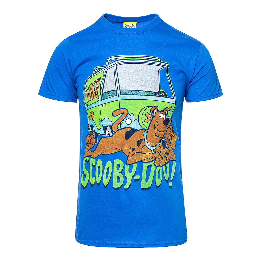 Scooby Doo The Mystery Machine T Shirt (Blue)