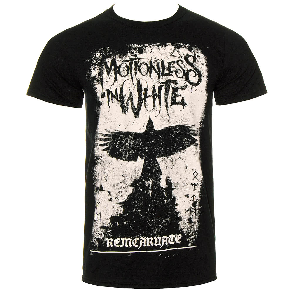 Official Motionless In White Phoenix T Shirt (Black)
