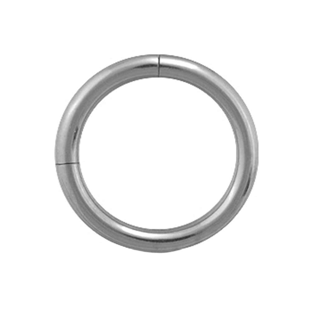 Blue Banana Surgical Steel 1.6mm Segment Ring (Silver)