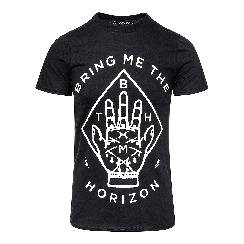 Bring Me The Horizon Diamond Hand T Shirt (Noir)