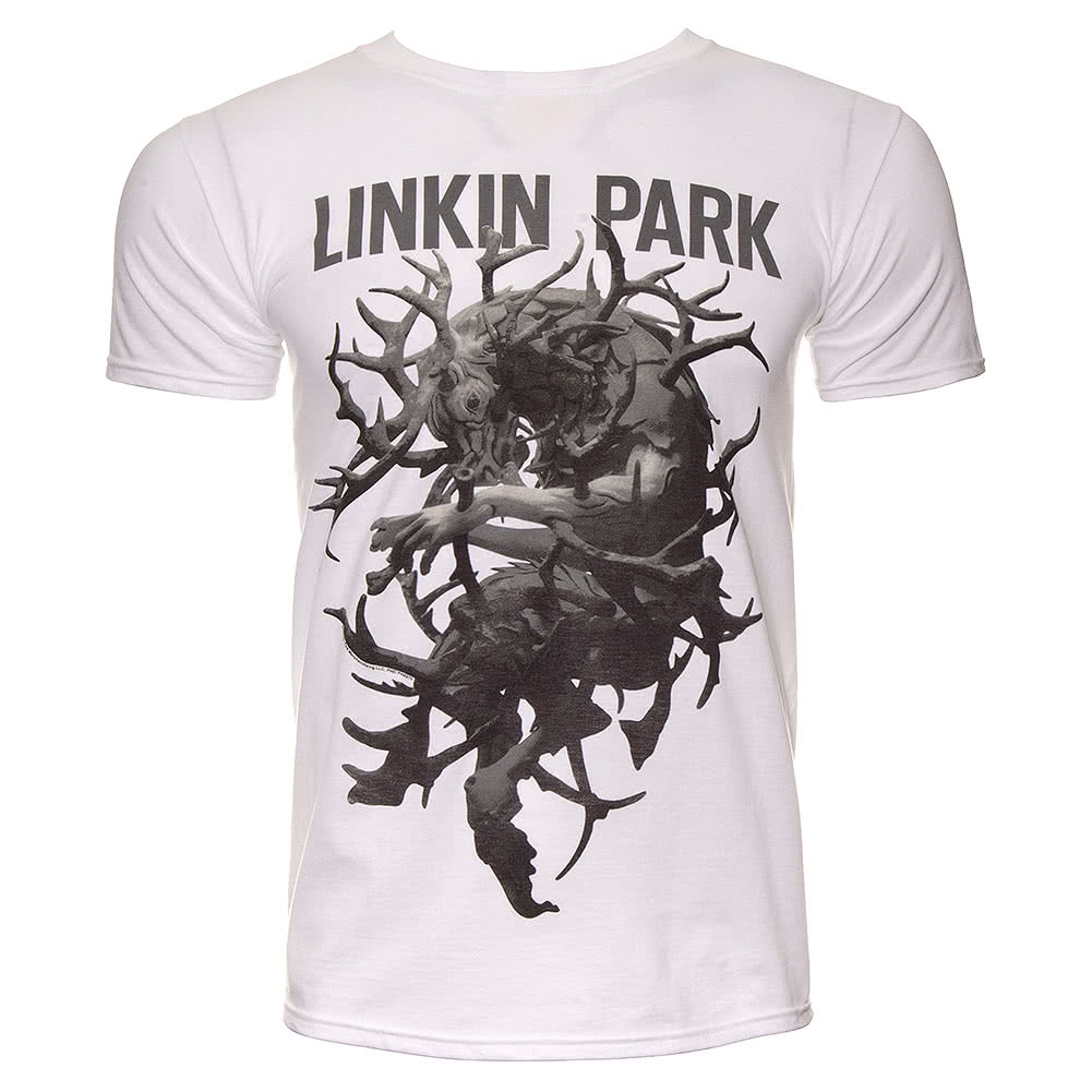 Official Linkin Park Antlers T Shirt (White)