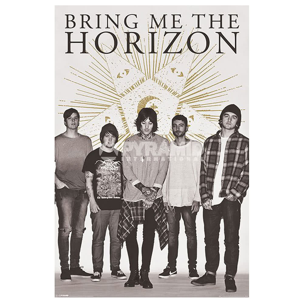 Official Bring Me The Horizon Star Poster (Grey)