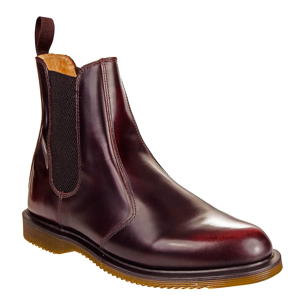 Dr Martens Chelsea Flora Boots (Cherry Red)