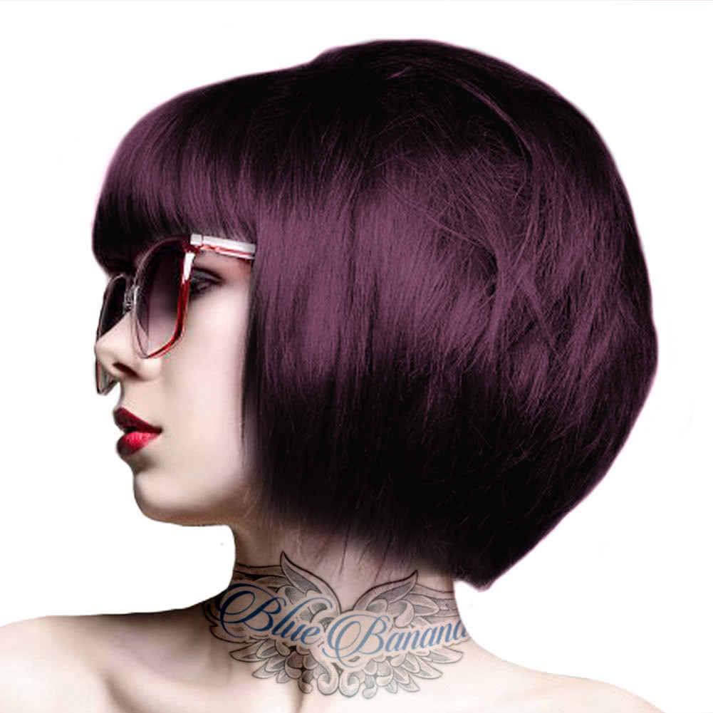 Design Aubergine Color crazy color semi permanent aubergine hair dye uk 100ml aubergine