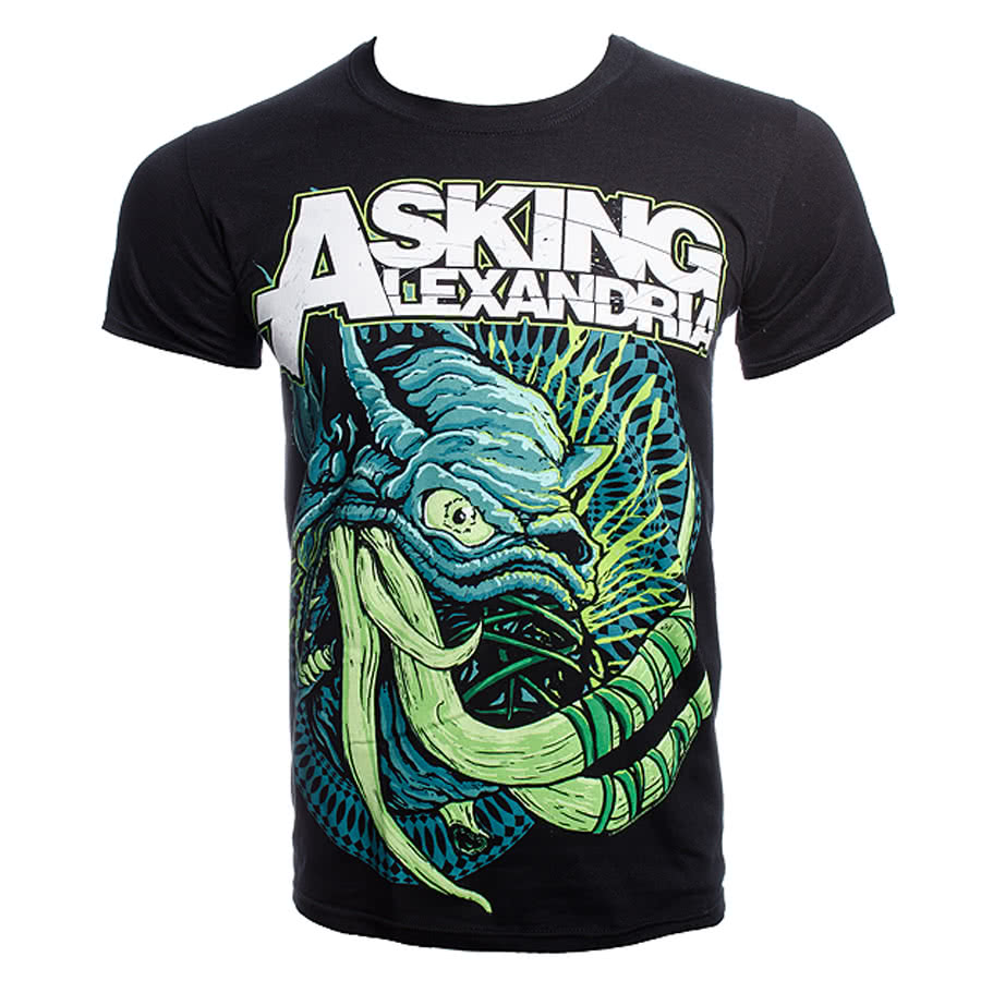 Official Asking Alexandria Tusks T Shirt (Black)