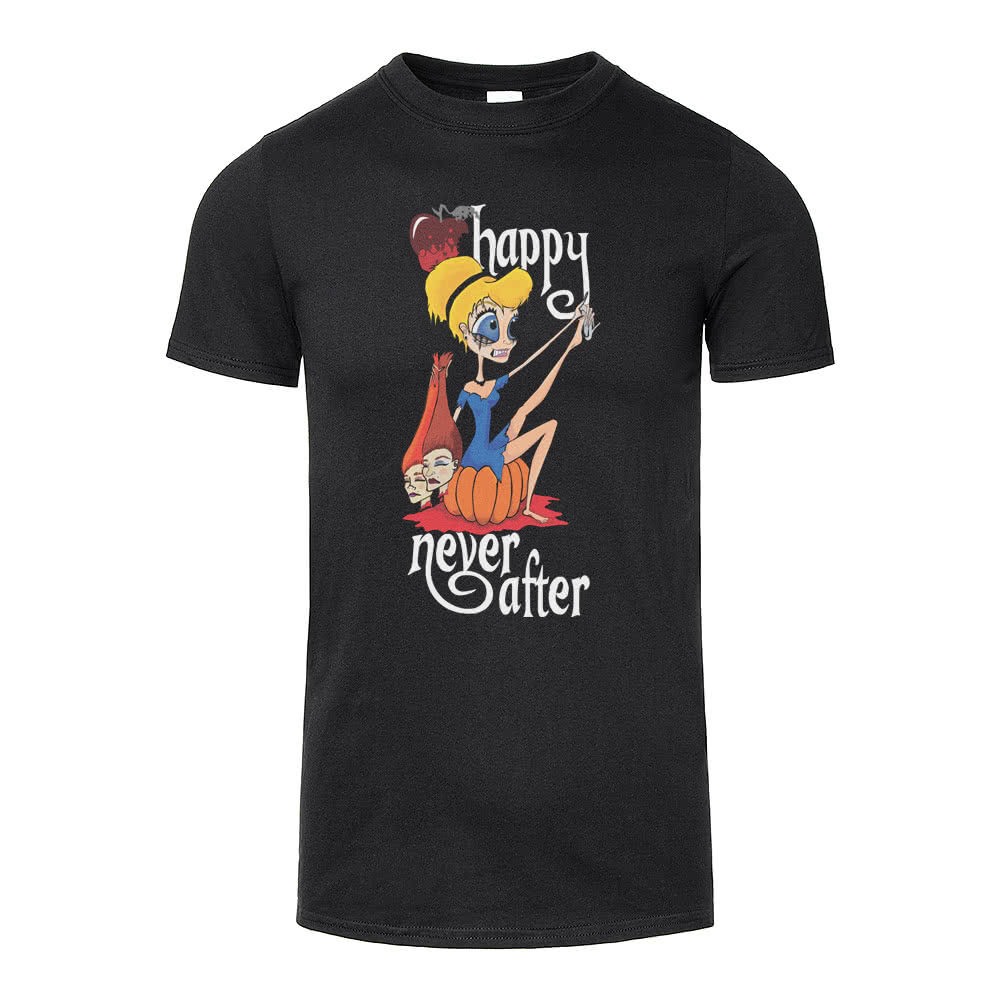 Happy Never After Sinders T Shirt (Black)