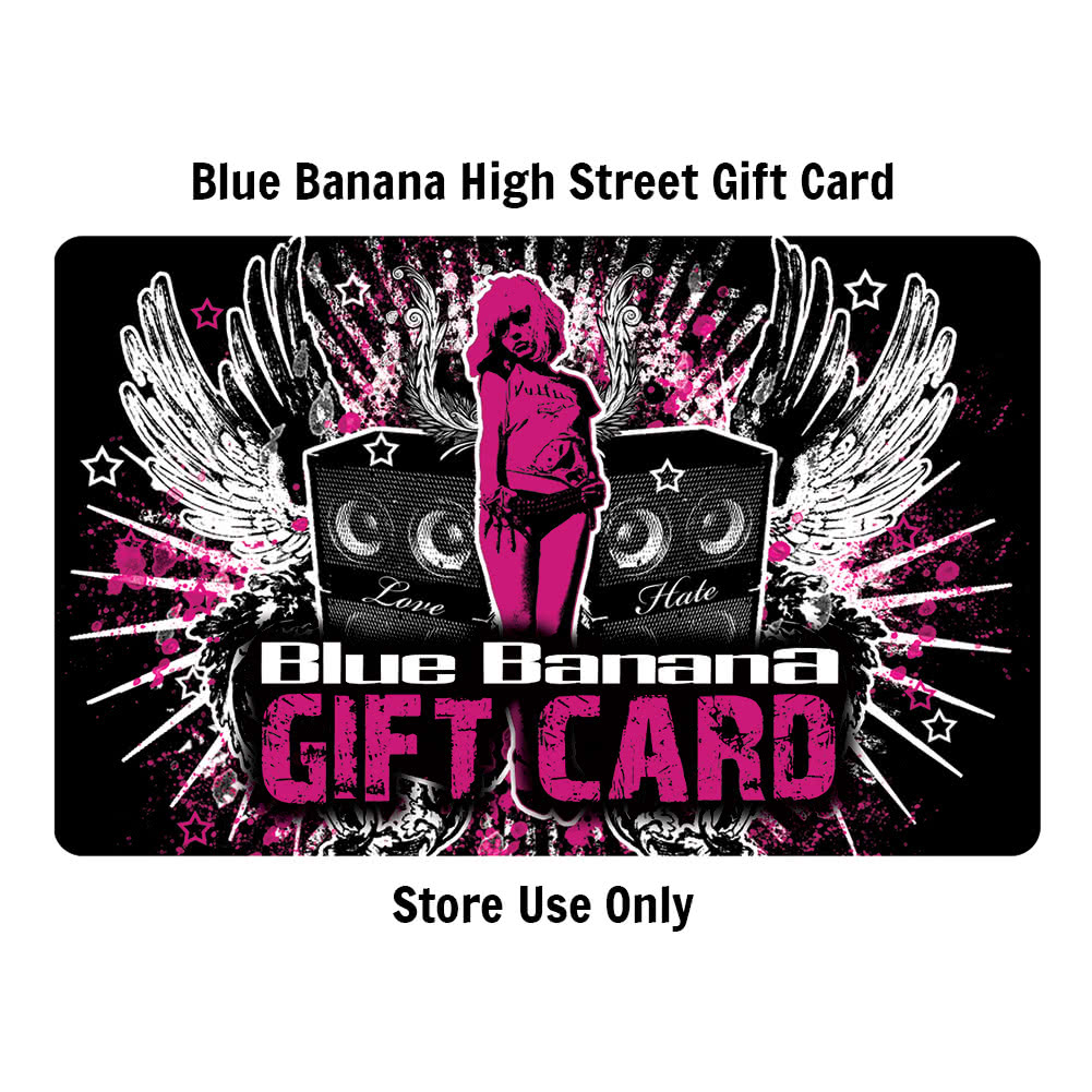 Blue Banana 50 Pound High Street STORE Gift Card (Cannot Be Used Online)