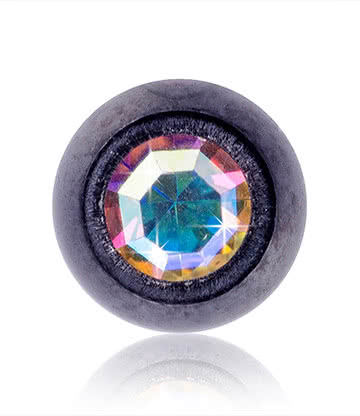 Blue Banana 3MM Black Jewel Ball (AB)