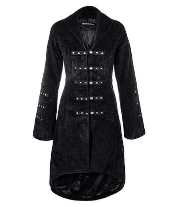 H&R Cord Coat (Black)