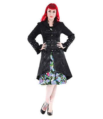 H&R Embroidery Coat (Black)