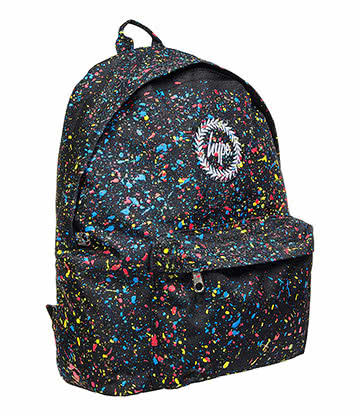 Hype Speckle Backpack (Black/Primary)