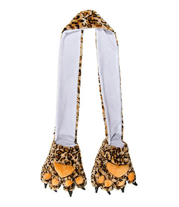 Blue Banana Leopard Scarf (Brown)