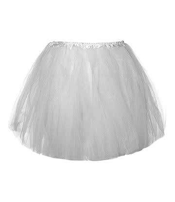 Blue Banana Tutu - Jupon Court (Blanc)
