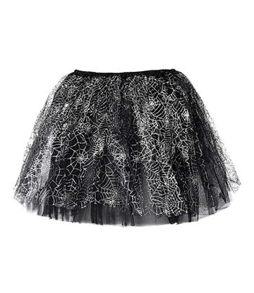 Blue Banana Web Tutu (Black/Silver)