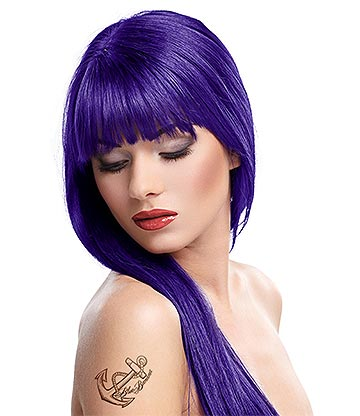 Splat Long Lasting Semi-Permanent Hair Dye Kit 86ml (Purple Desire)
