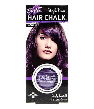 Splat Hair Chalk 3.5g(Purple Pixies)