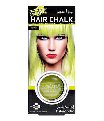 Splat Hair Chalk 3.5g (Lemon Lime)