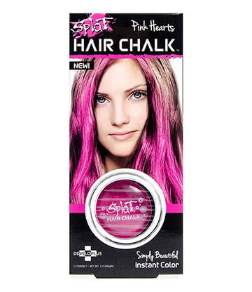 Splat Hair Chalk 3.5g (Pink Hearts)