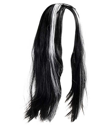 Blue Banana Morticia Wig