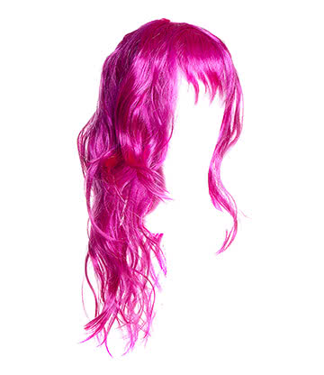 Blue Banana Long Layered Wig (Purple/Pink)