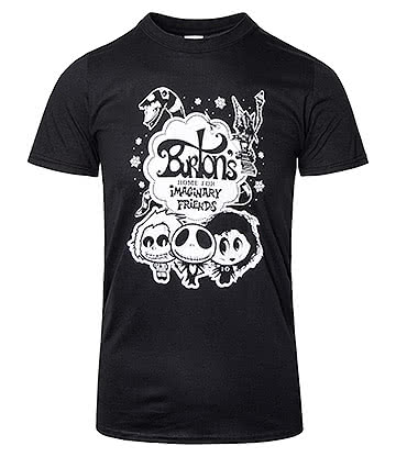 Warbucks360 Burton's Imaginary Friends T Shirt (Black)