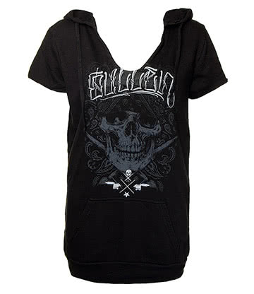 Sullen Angels Hard Pocket Skinny Hoodie (Black)