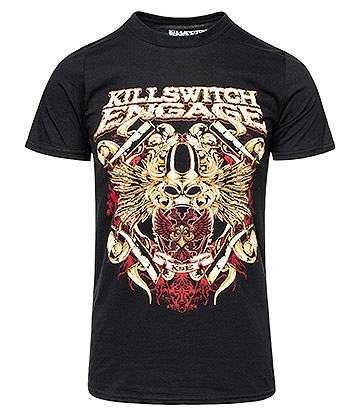 Official Killswitch Engage Bio War T Shirt (Black)