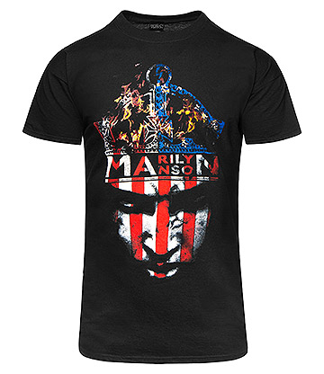 Official Marilyn Manson Crown T Shirt (Black)