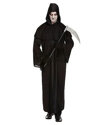 Blue Banana Death Fancy Dress Costume (Black)