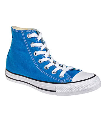 Converse All Star Hi Top Boots (Cyan Space Blue)