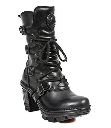 New Rock Style M.NEOTR005-S8 Neotrail Boots (Black)