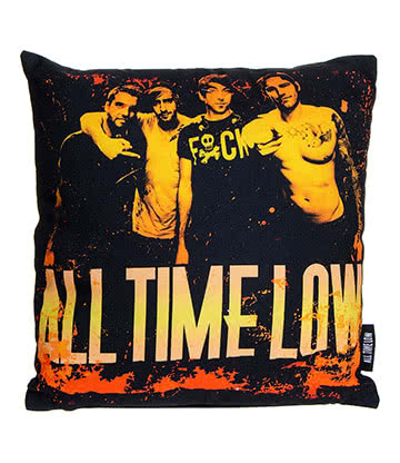 Official All Time Low Metal Finger Cushion (40cm x 40cm)