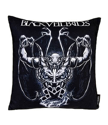 Official Black Veil Brides Demon Rises Cushion (40cm x 40cm)