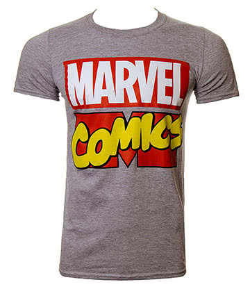 Marvel Comics T Shirt (Grey)