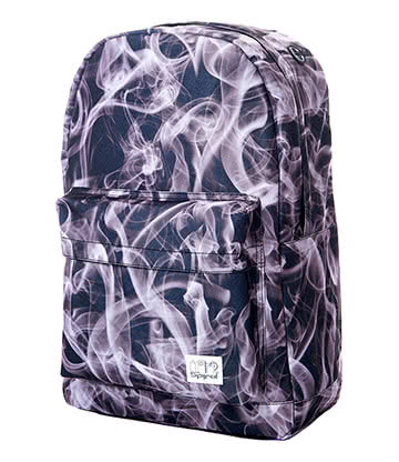 Spiral Black Mist OG Backpack (Black/White/Grey)