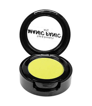 Manic Panic Electric Banana Love Colors Eye Shadow - Ombres A Paupières (Acid Yellow - Jaune Acide)