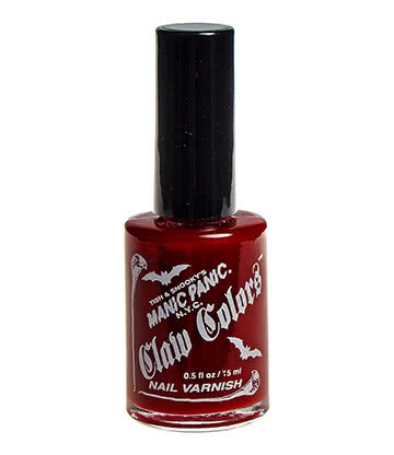 Manic Panic Claw Colours Nail Varnish (Blood Red)