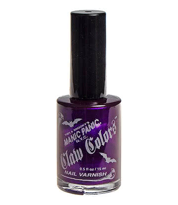 Manic Panic Claw Colours Nail Varnish (Plum Passion)