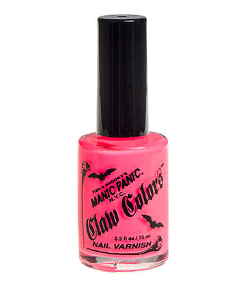 Manic Panic Claw Colours Nail Varnish (Electric Flamingo)