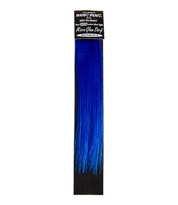Manic Panic Shocking Blue Extension Pour Cheveux Mèche Glamour Flashy 20cm (Bleu)