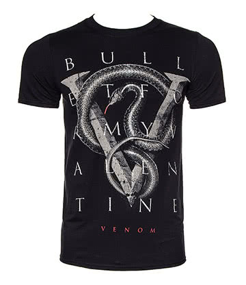 Official Bullet For My Valentine V For Venom T Shirt (Black)