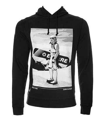 Chunk Clothing Star Wars Snow Trooper Hoodie (Black)